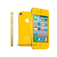 Cambio de color de iPhone 4S a amarillo