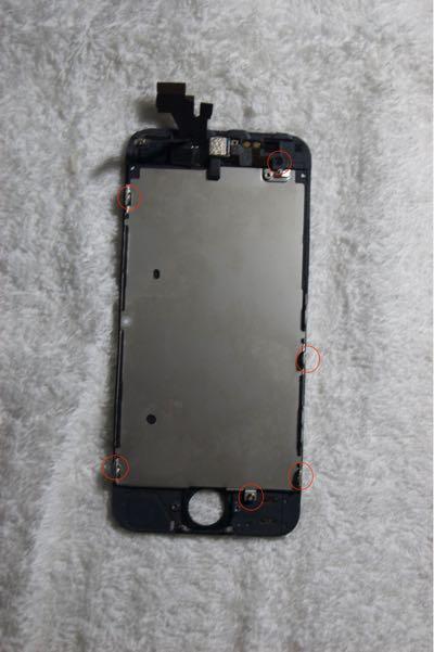 Cambiar pantalla iPhone 5 paso 12