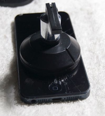 cambiar pantalla iPhone 5 paso 3