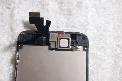 Cambiar pantalla iPhone 5 paso 7