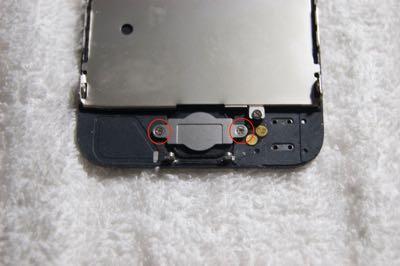 Cambiar pantalla iPhone 5 paso 9
