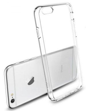Funda transparente para iPhone 6 plus