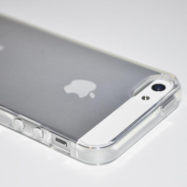 Funda transparente para iPhone 5 o 5S