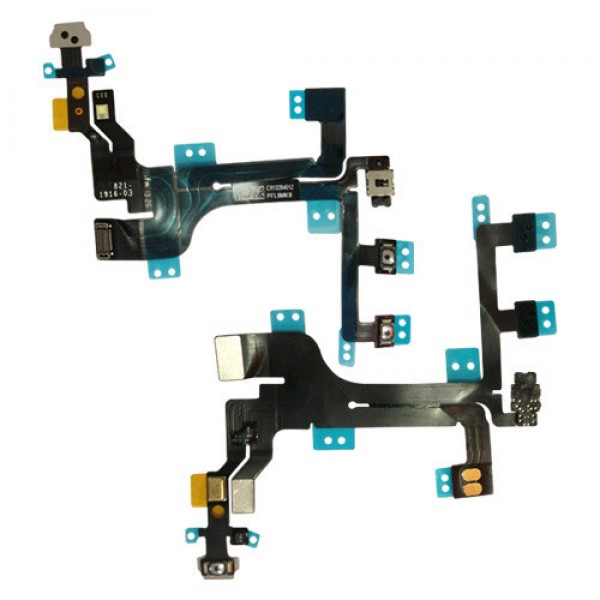 Repuesto flex botón power iPhone 5S