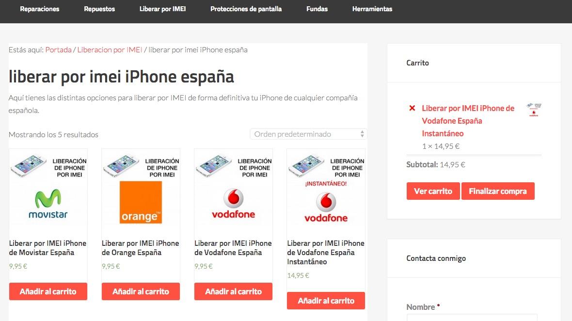 como liberar iPhone por IMEI 1