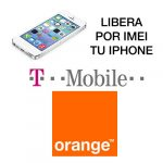 Liberar por IMEI iPhone de Orange / T-Mobile