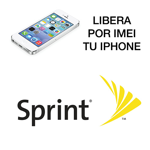 liberar por IMEI iPhone de Sprint USA