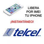 liberar por imei iPhone de Telcel instantáneo