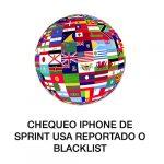Checa si tu iPhone de Sprint está reportado o en blacklist
